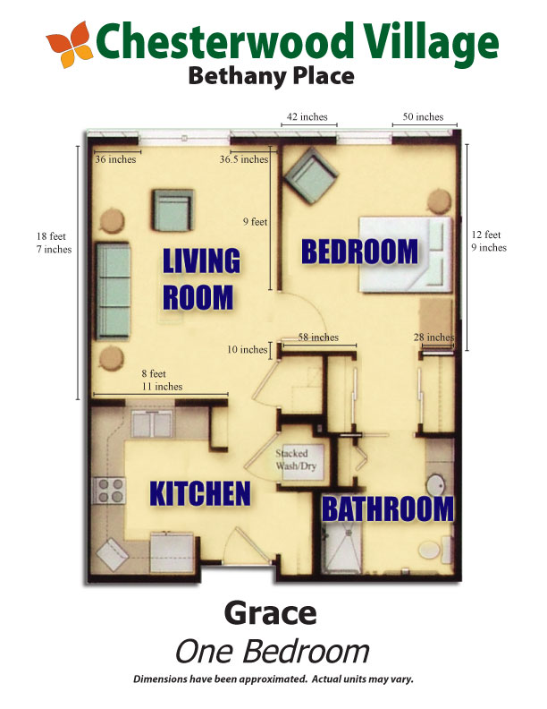 Grace Floor Plan | Hillandale Communities