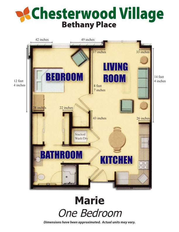 Marie Floor Plan | Hillandale Communities