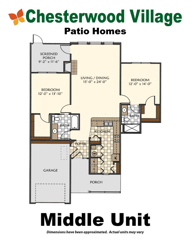 Middle Unit | Hillandale Communities