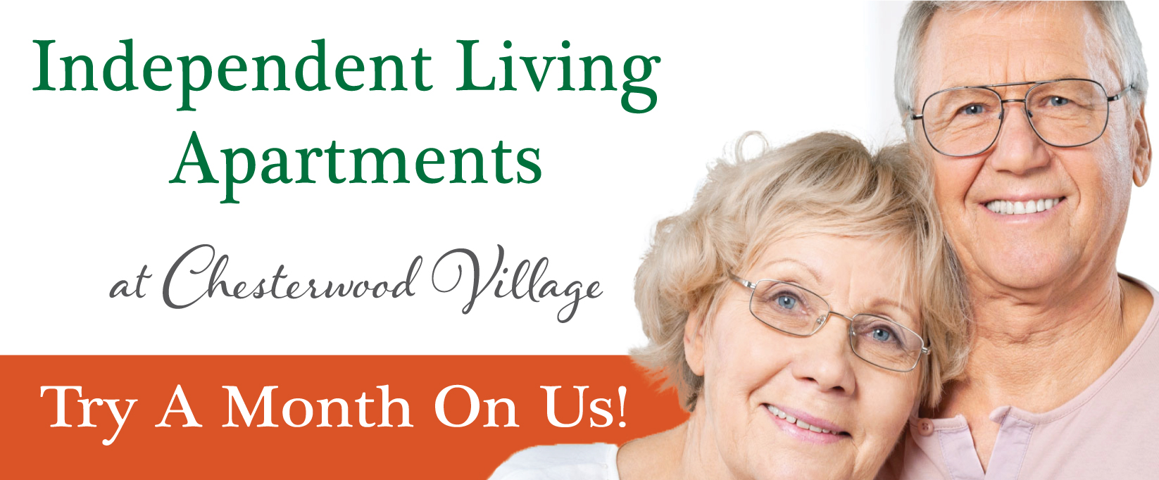 Try A Month On Us Independent Living Apartments | Hillandale Communities